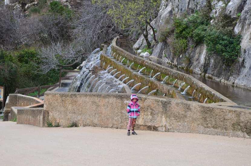 Fuente de los 100 caños Antequera