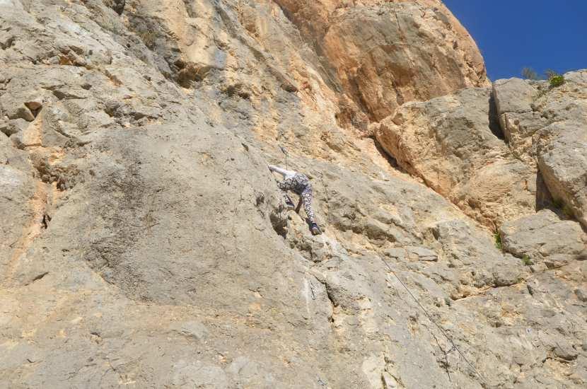 Klettern El Chorro