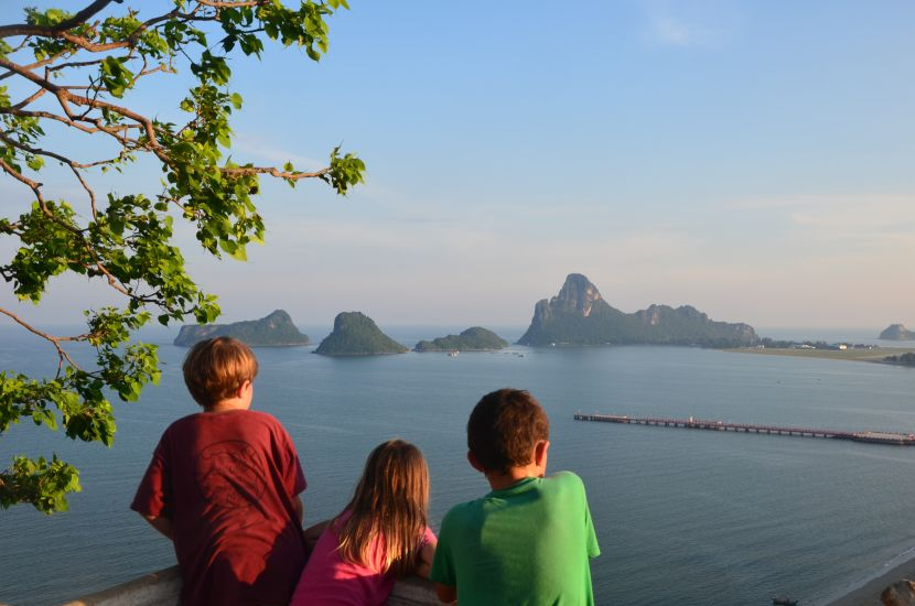 Aufstieg auf den Khao Chong Kra Chok